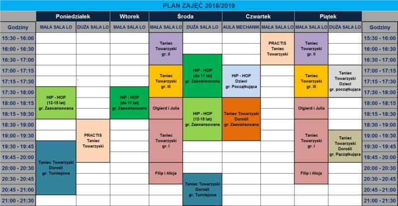 Plan Gracja 2018-2019